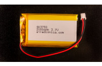 Li-ion battery 2100mAh 3.7V