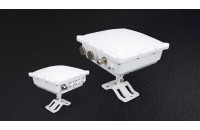Outdoor aluminium waterproof case for LoRa gateway with 5 N connectors