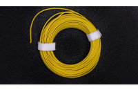 Prototyping wire 10m, yellow, AWG25