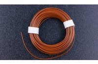Prototyping wire 10m, brown, AWG25