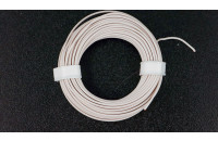 Prototyping wire 10m, white, AWG25
