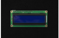 I2C LCD 16x2 blue with easyC adapter