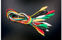 10x cables with aligator clips