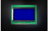Graphic LCD display 128x64 blue