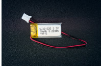 Li-ion battery 70mAh 3.7V with JST connector