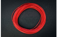 Prototyping wire 10m, red, AWG25