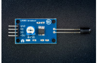 Fire sensor (phototransistor) with LM393