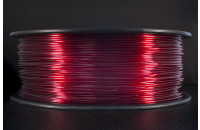"""e-radionica.com"" PETG filament 1.75mm TRANSPARENT RED 1kg"