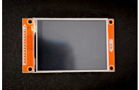 "TFT display 2.8"" 240x320, touchscreen"