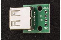 USB female connector breakout