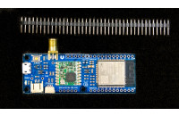 ESP32 microcontroller board with LoRa transciver and SMA connector