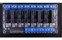 Module with SSR relays, 8-channel