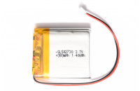 Li-ion battery  380mAh 3.7V with JST connector