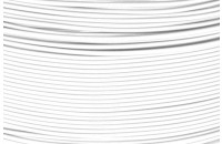 "SAMPLE ""e-radionica.com"" PETG Filament 1.75mm White 50g"