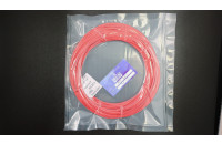 "SAMPLE ""e-radionica.com"" PLA MATT Filament 1.75mm Red 50g"