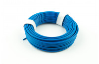 Prototyping wire 10m, blue, AWG25