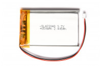 Li-ion battery 650mAh 3.7V with JST connector